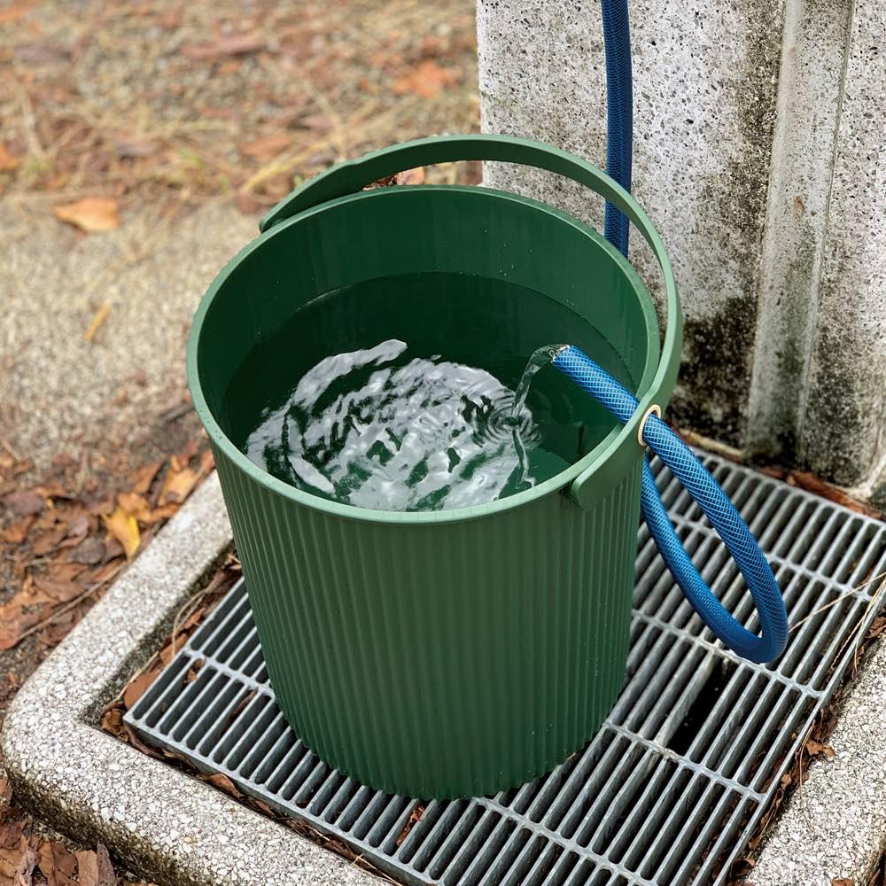 マルチガーデンバケット大小セット 水汲み用バケツにも便利。