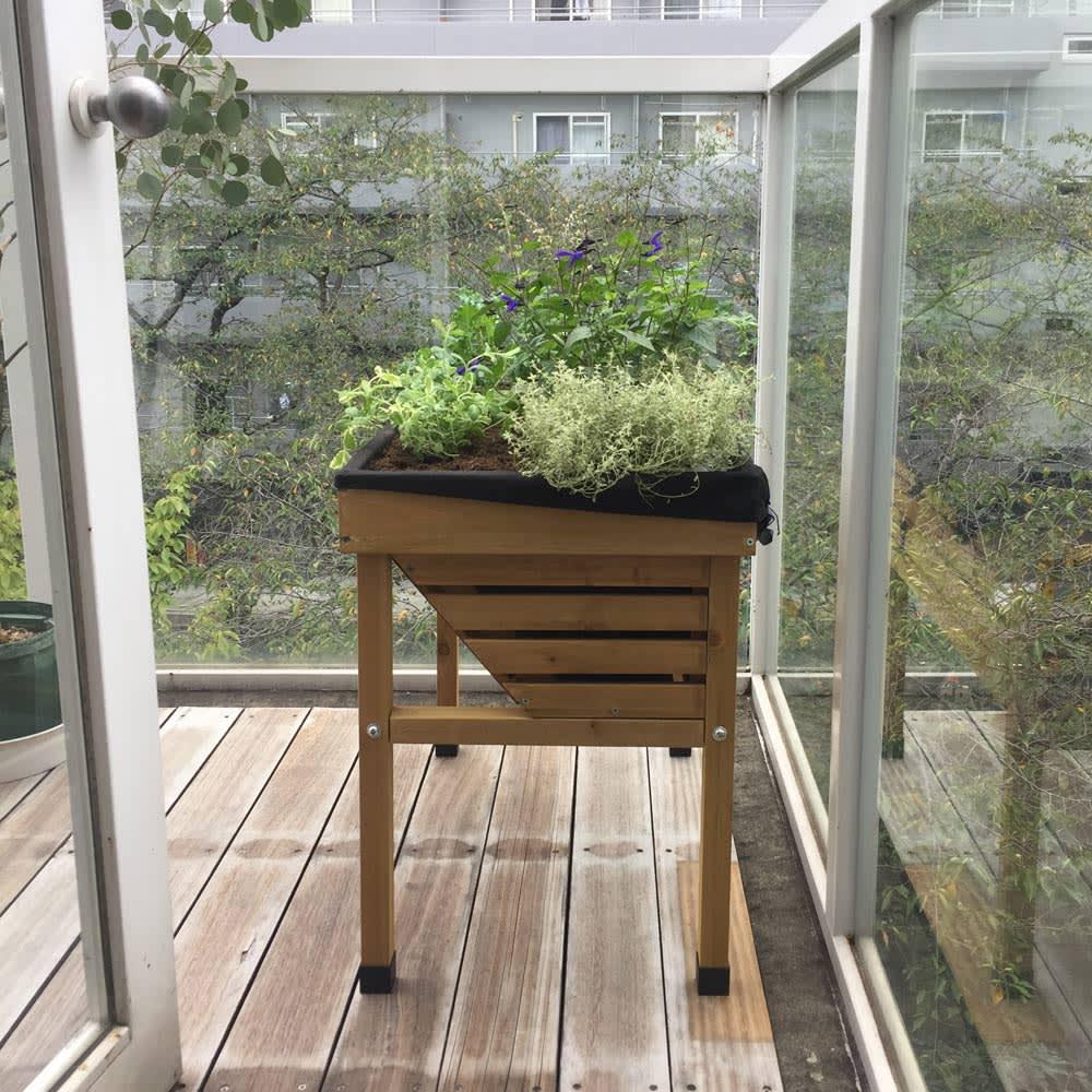 菜園プランター ベジトラグ バルコニーサイズ