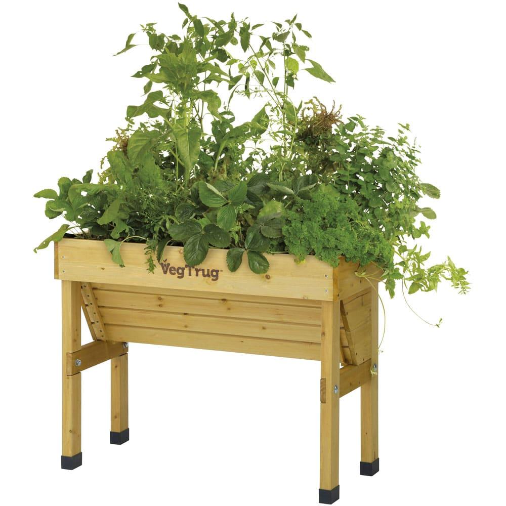 菜園プランター ベジトラグ 省スペースサイズS (ア)ナチュラル ※写真はSサイズです。