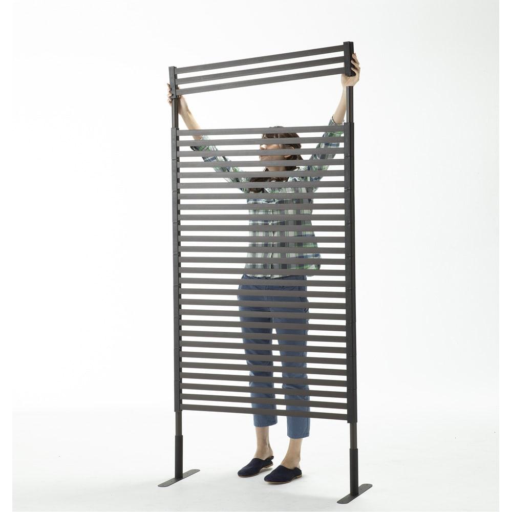 ハンギングできる目隠しフェンス 高さ180cm 2枚