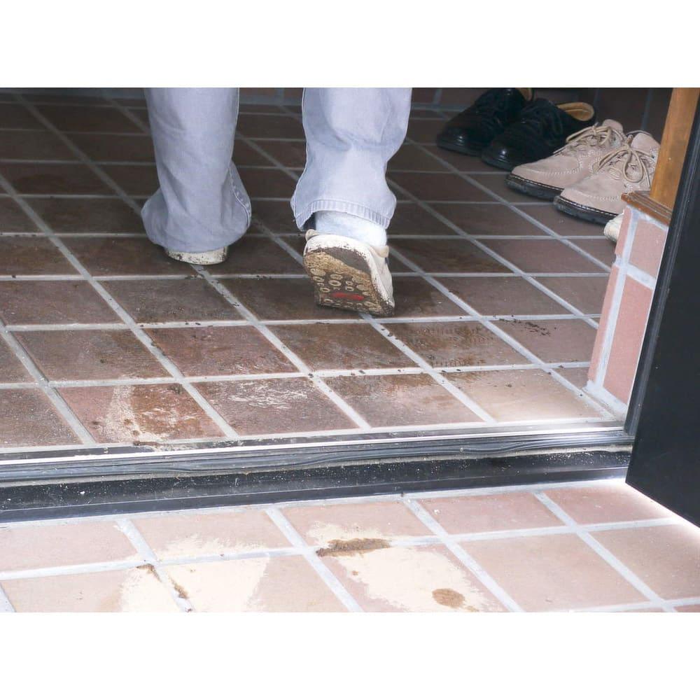 水をかけて固まる土 カチカチ君 泥の上を歩いて玄関がぐしゃぐしゃ…なんてお悩みの方に!愛犬の散歩後の汚れ対策にも。