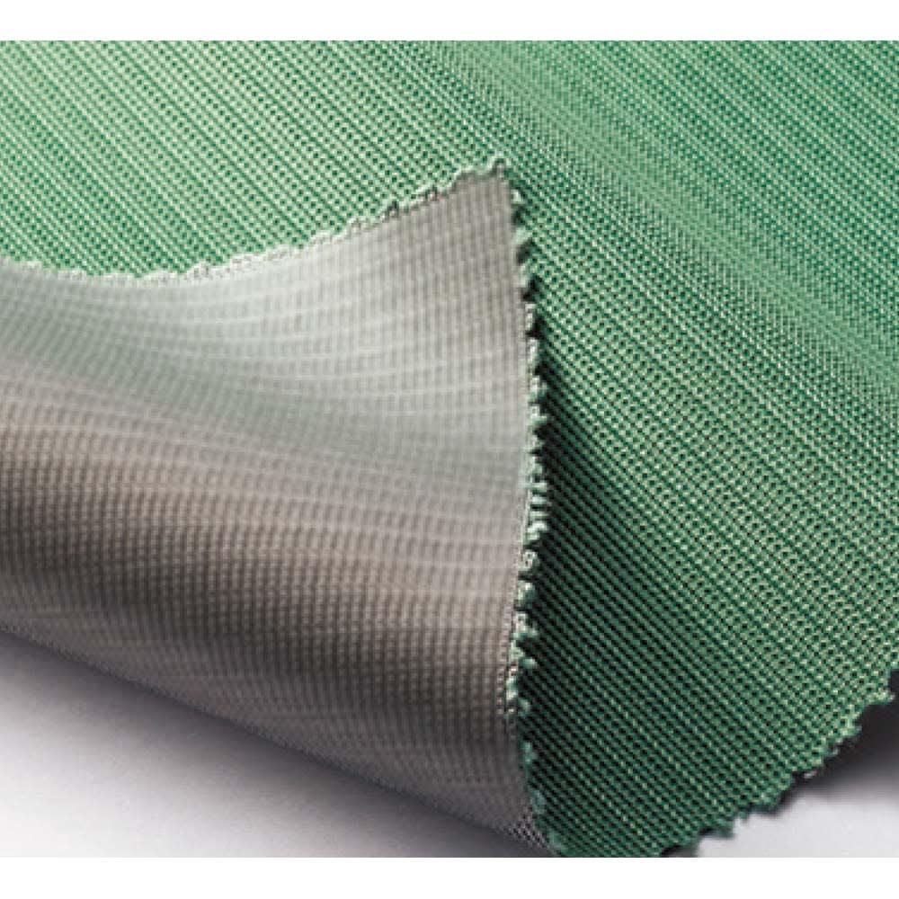 遮熱サンシェード ストライプ 180×180cm メッシュ生地の裏地にステンレスコーティング。暑さの原因となる赤外線に加えて、家具や畳の日焼けの元となる紫外線(UV)も効果的にカットします。