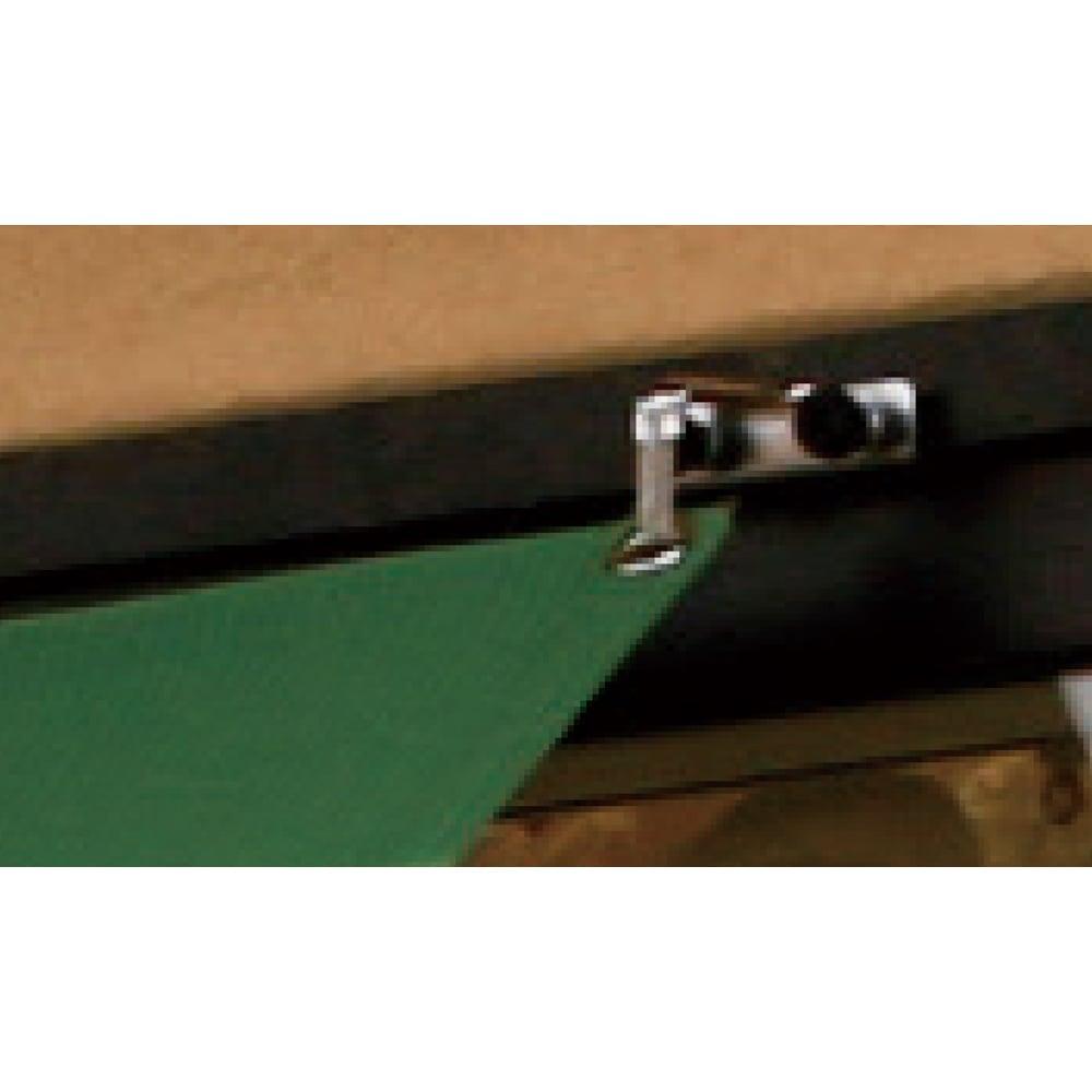 遮熱サンシェード ストライプ 180×270cm アルミサッシなどに、簡単に取り付けられるサッシフック3個が付属します。