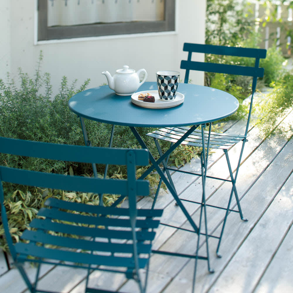 フランス製ビストロテーブル&チェア ビストロテーブル G66902