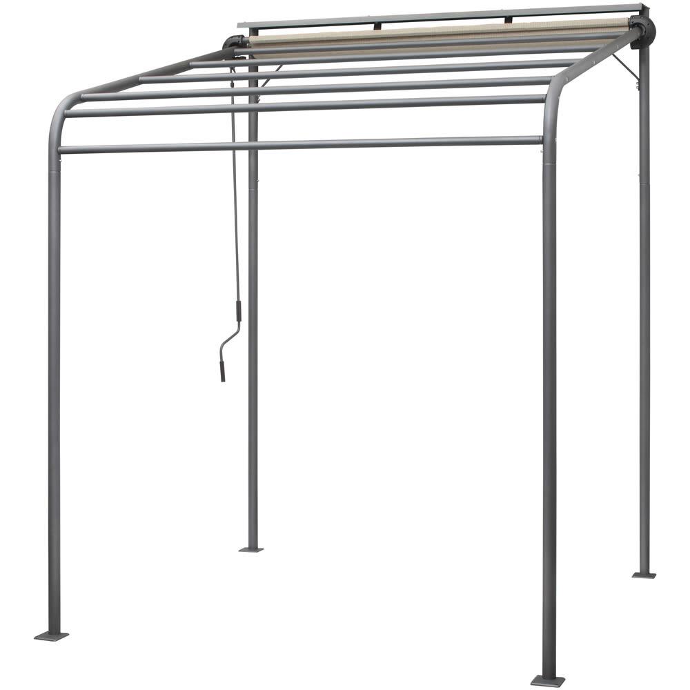 ガーデニング フラワー ガーデニング用品 エクステリア 日除け ガーデンパラソル クールサマーポーチ 幅200cm G67003
