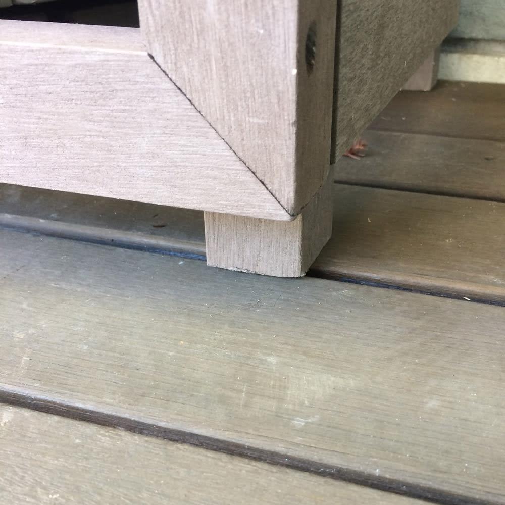 【逆ルーバー】人工木室外機カバー 大型対応