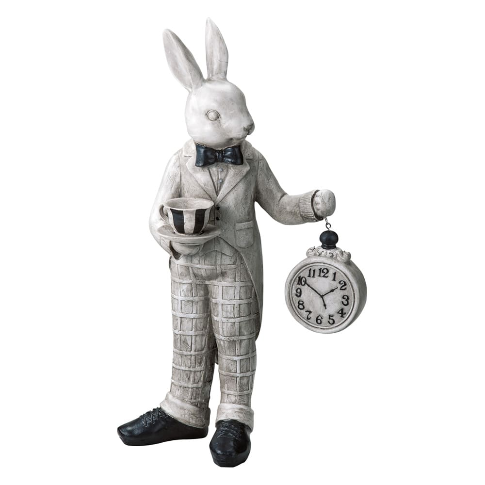 うさぎのパーティーシリーズ 時計うさぎ お届けの商品です
