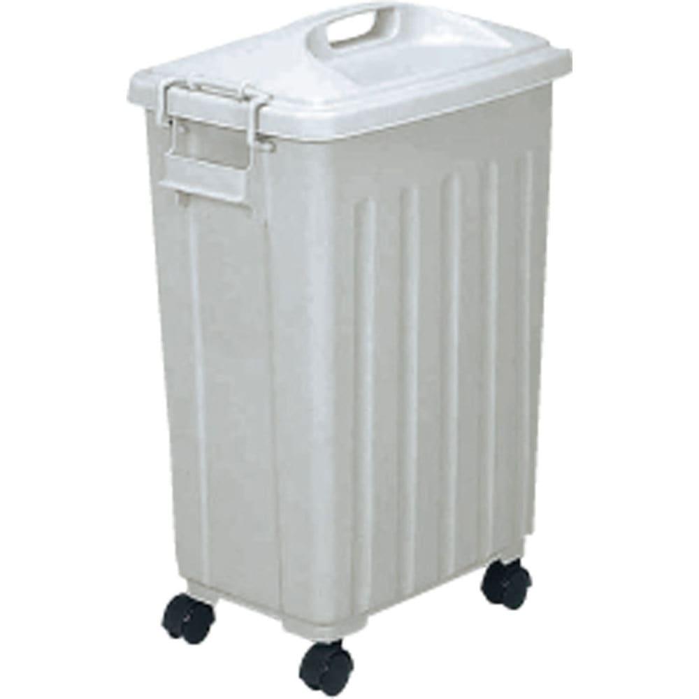 ガルバ製ゴミ保管庫 レギュラータイプ 幅100奥行55cmペール付き ボックス内にセットできるプラスチック製ペールを3個セット。