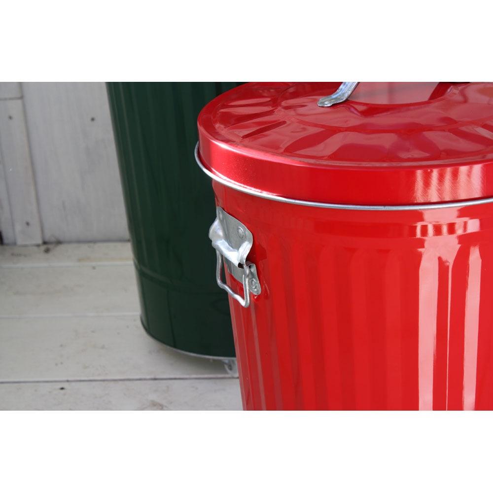 OBAKETSUカラーゴミ箱 取っ手部分アップ