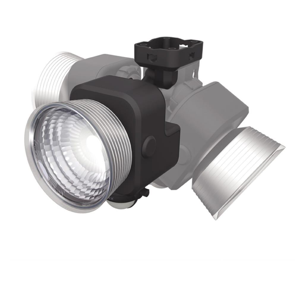 明るい!電池式防犯人感LEDライト ライトの向きは180°動かせます。