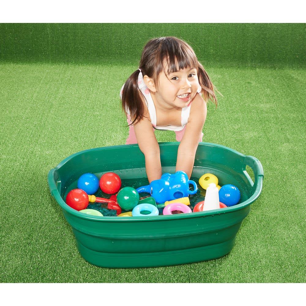 折りたたみタライ ソフトタブプラス23L 子供の水遊びに