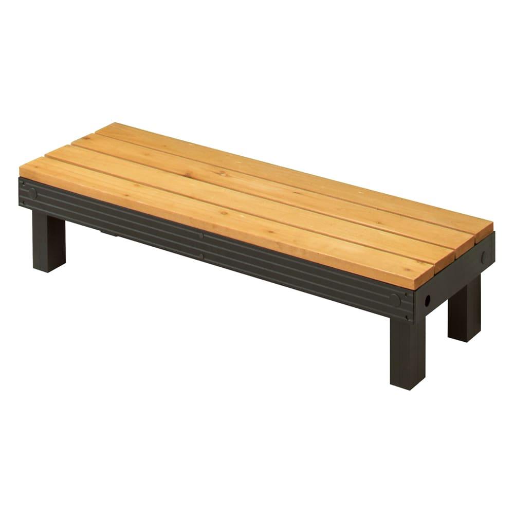 天然木アルミフレームデッキ ステップ単品
