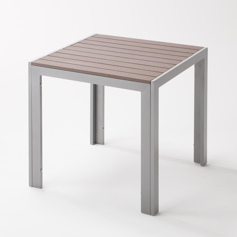 木風プラスチック&アルミファニチャー 正方形テーブル G67612