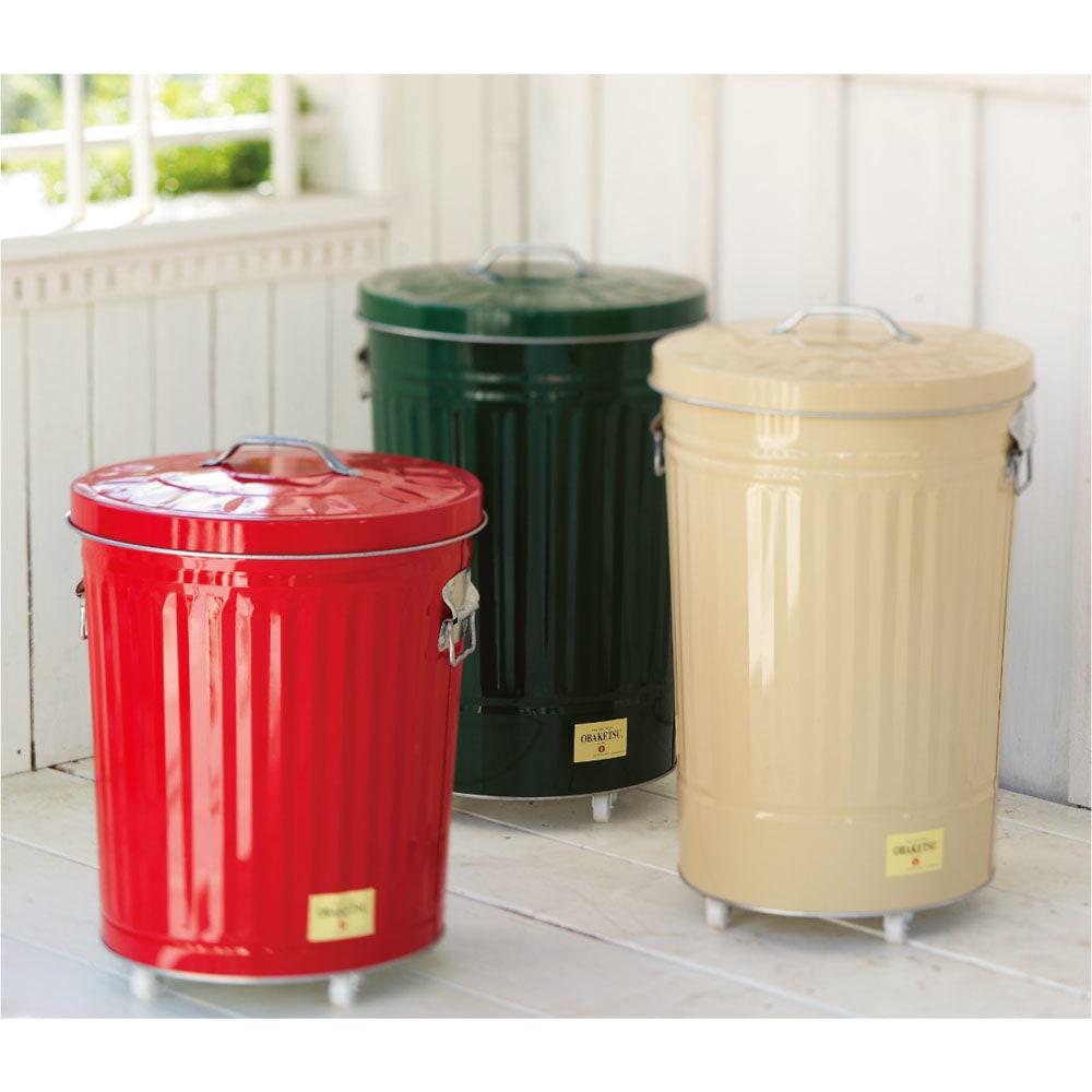 OBAKETSUカラーゴミ箱