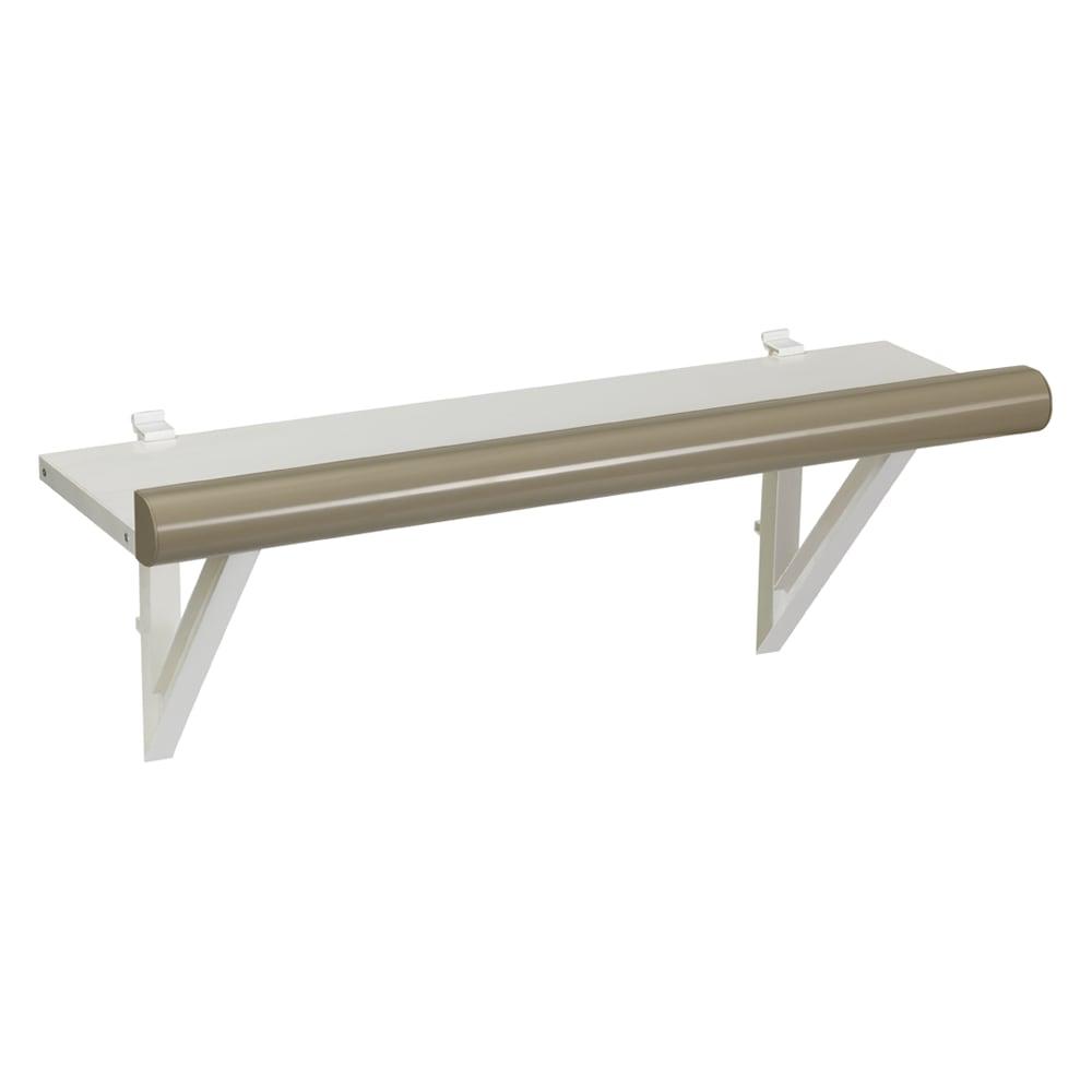イタリア製物置 三角屋根 可動式棚板は2枚付き。しっかりした頑丈なつくり。