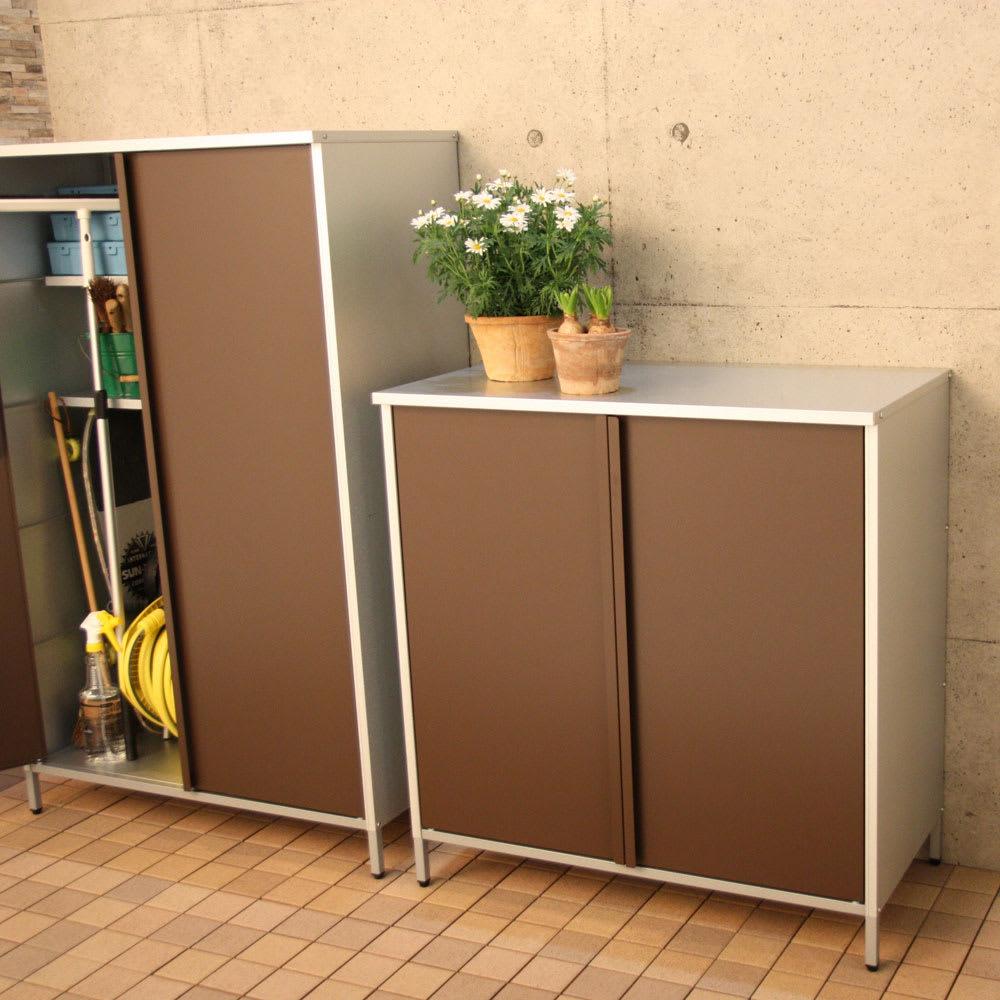 ガルバ製物置 レギュラータイプ 幅91.5高さ95cm