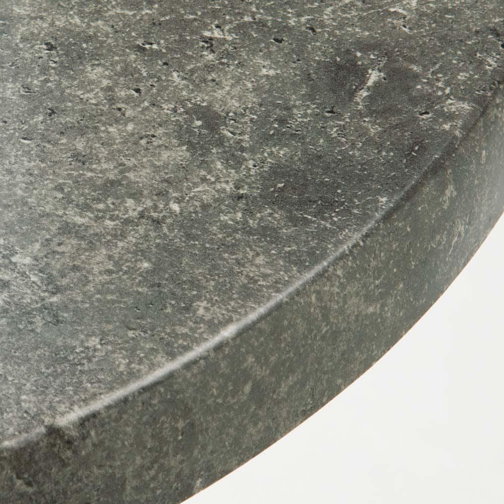大理石調コンパクトテーブル&チェア 3点セット 高級感がありお手入れが楽な大理石調。