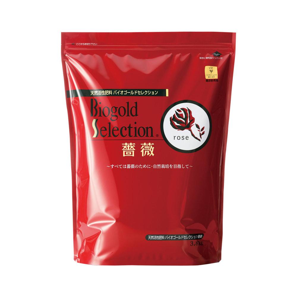 バイオゴールド セレクション 薔薇 バラ用追肥料 3.8kg 3.8kg