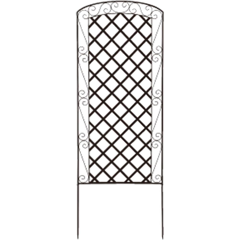 アイアンラティス柄フェンス 高さ170cm 2枚組 G81122