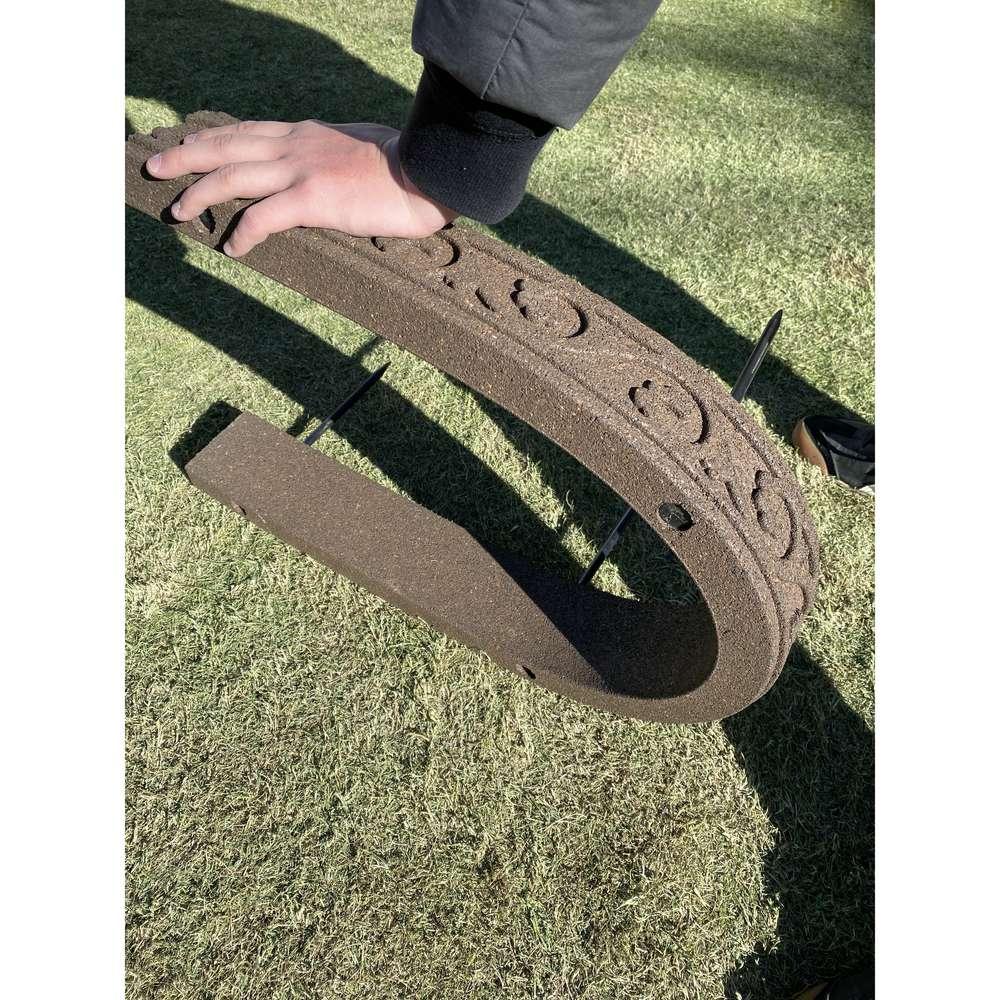 カナダ製 アラベスク調エッジング 120cm