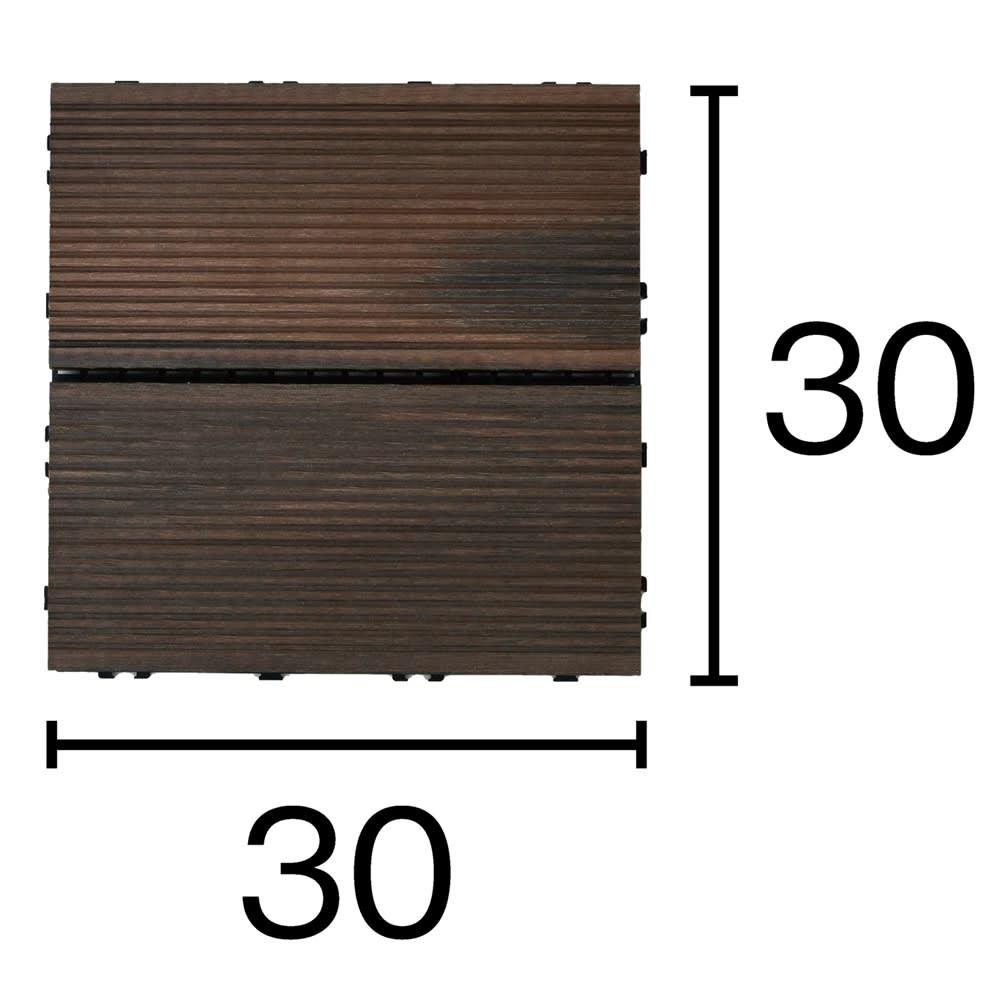 グランドデッキパネル 4枚 30×30 縦×横方向での連結も可能。