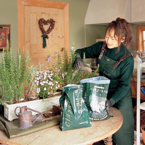 バイオゴールド クラシック元肥 5kg 園芸家・吉谷桂子さんも使っています。
