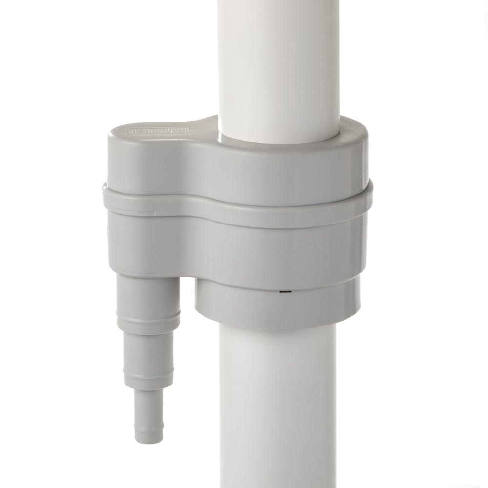 英国Strata社製雨水貯水タンク 容量100L 設置手順2 雨どい用取水器をセットします。