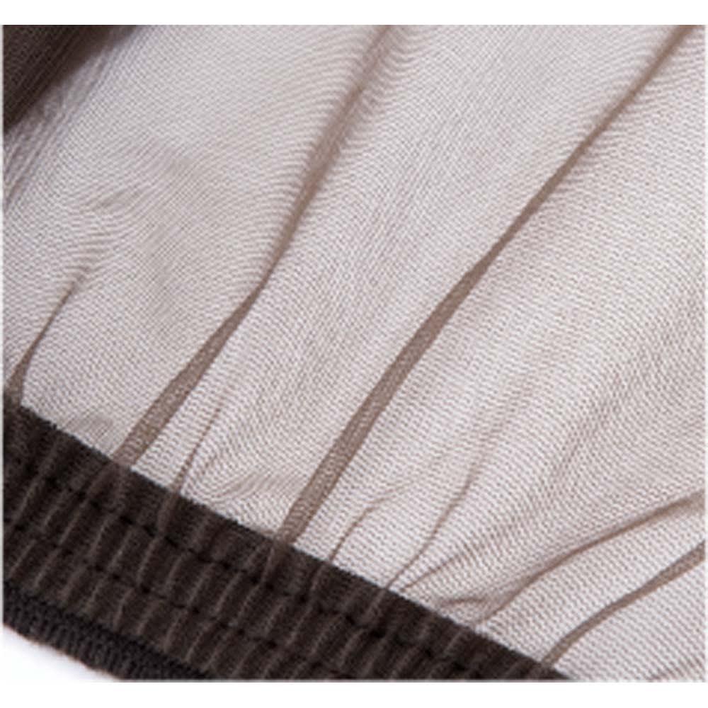 米国バグバフラー社製虫除けスーツ ノーシームファブリックの細かなメッシュ生地とウエストのゴム、手首・足首のリブで、虫の侵入を防ぎます。前面ファスナー式で頭部を簡単にネットから出せます。