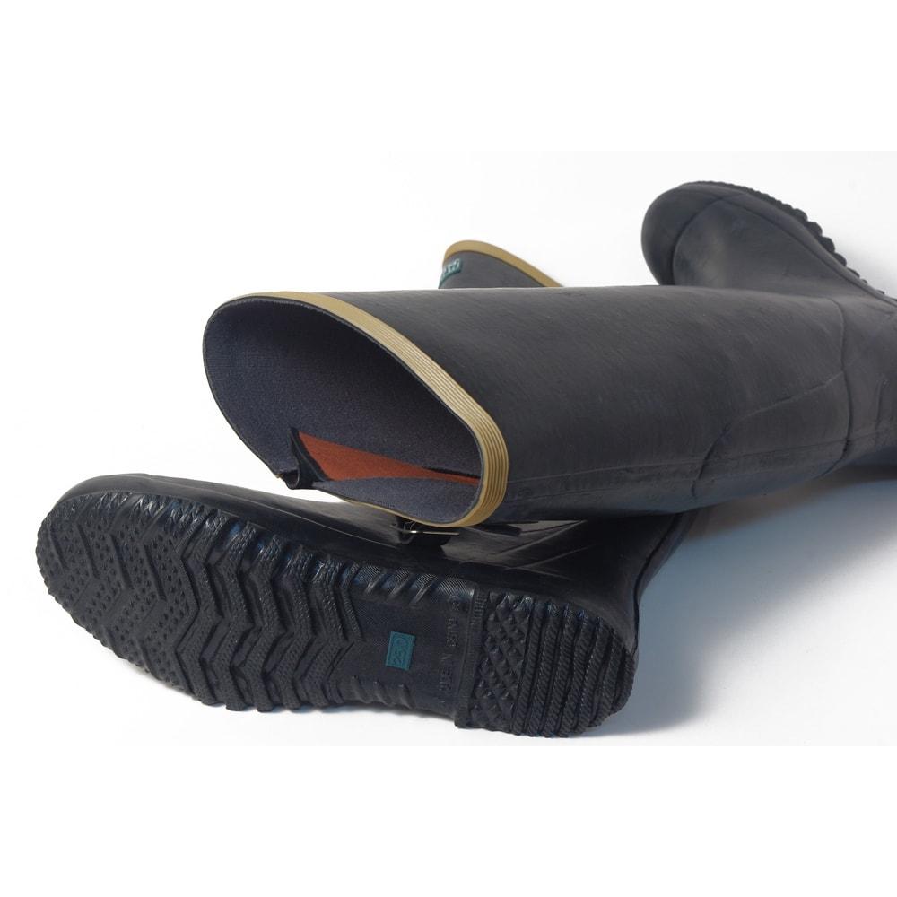 老舗ミツウマ おしゃれな農作業長靴