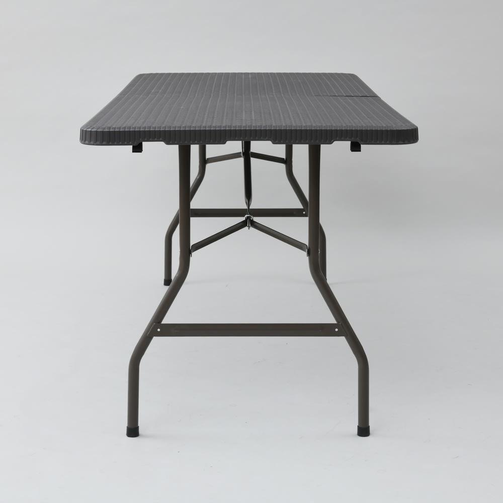 折りたたみ作業台シリーズ テーブル ラタン調