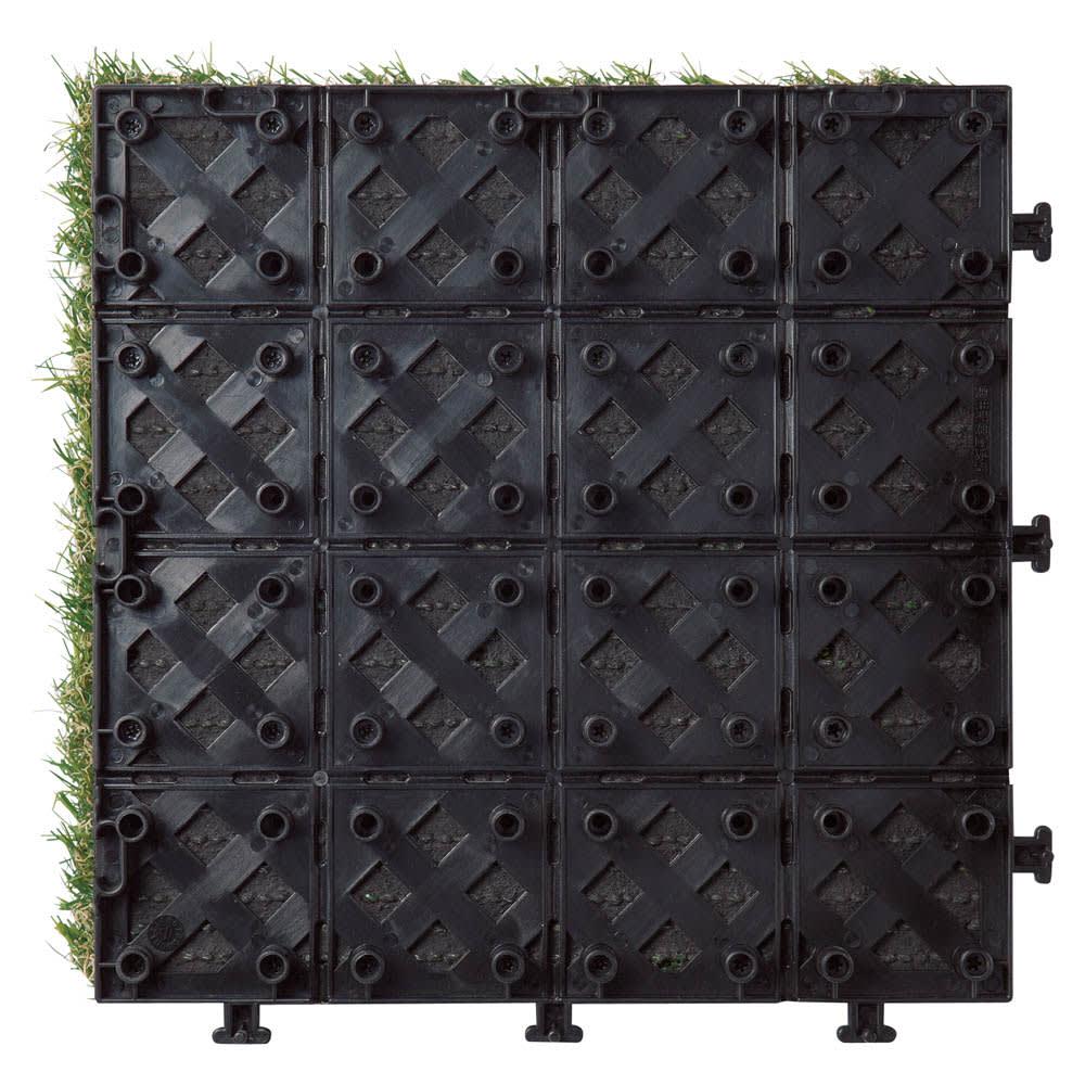 ジョイント式マット 人工芝 お得な30枚組 裏面