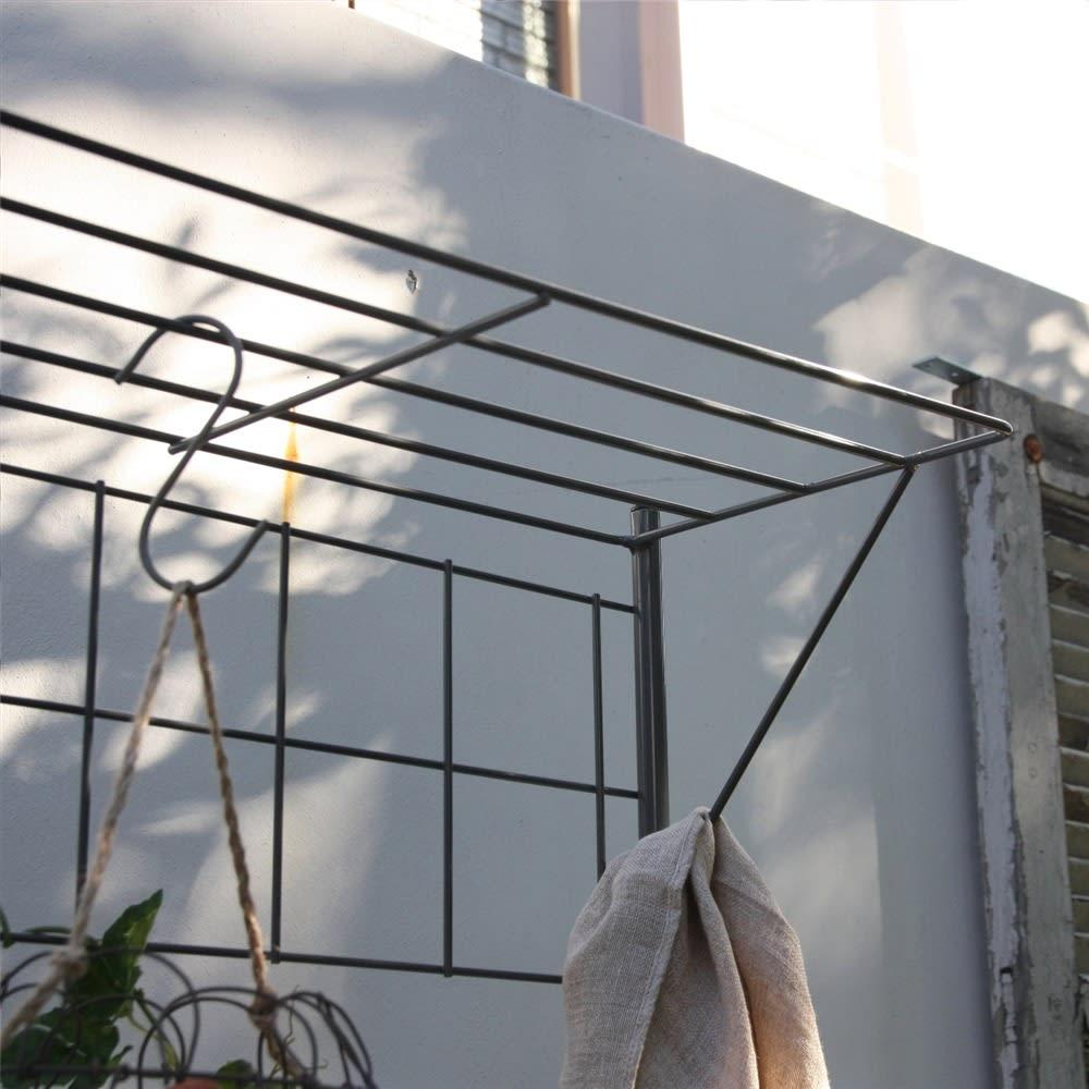 プランター台付きワイドトレリス 幅89cm パーゴラ付き ハンギングも楽しめるパーゴラタイプ。