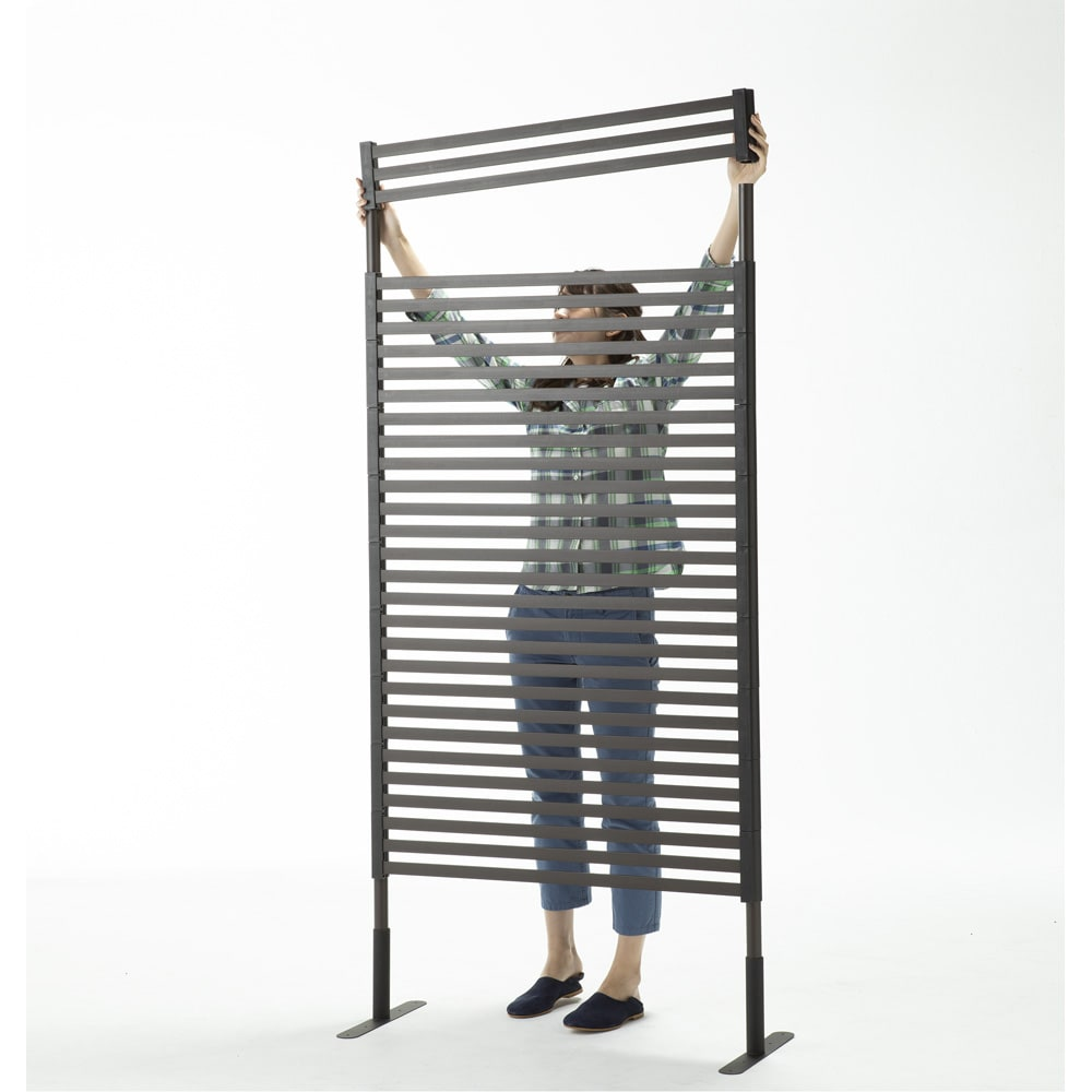 ハンギングできる目隠しフェンス 高さ120 1枚