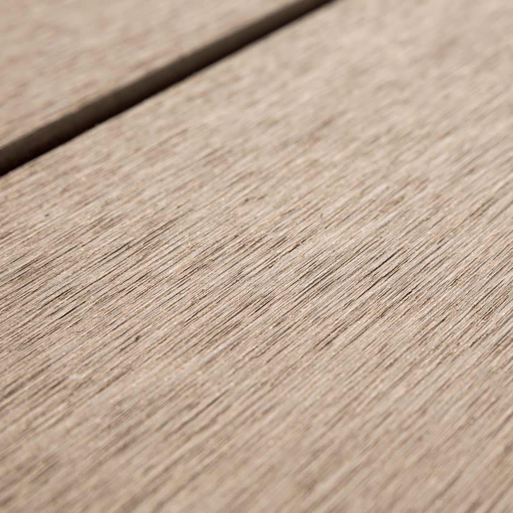 人工木デッキ 180×180セット 天然木の風合いそのまま、耐久性に優れた人工木。