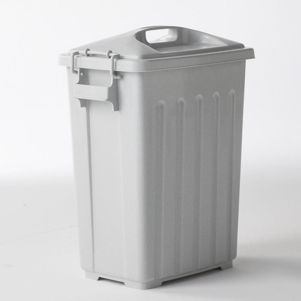 組立不要 ラタン調ゴミ保管庫 幅100cm ペール3個付き 内部のペールは、付属のキャスターを外してご使用ください。