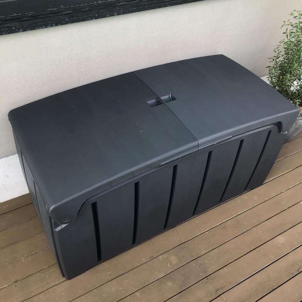 イギリス製大容量収納ベンチ