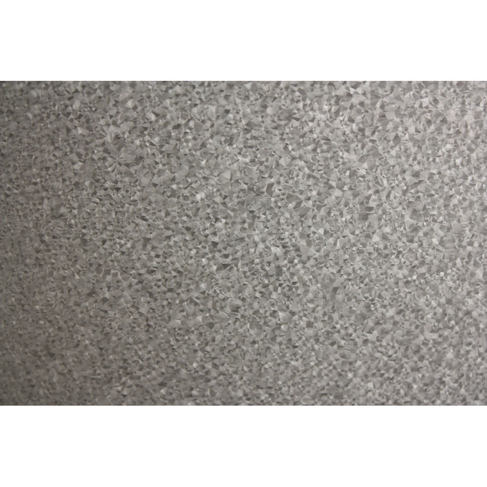 ガルバ製ゴミ保管庫 レギュラータイプ 幅100奥行55cmペール付き 側面には雨に強いガルバリウム鋼板を使用