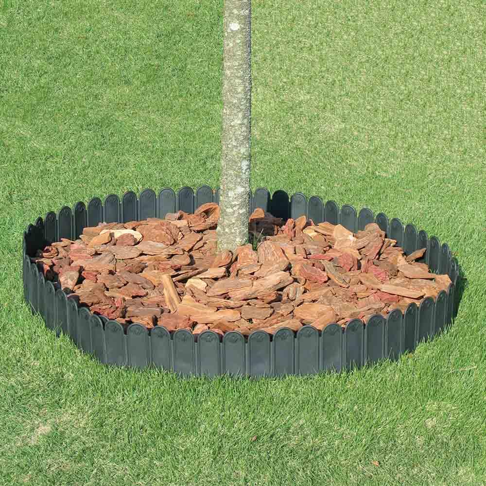 根止め&花壇づくり土ストッパー 12m サークル