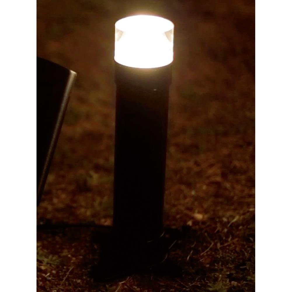 明るい!ソーラーライト ライトポールS ガーデンライト