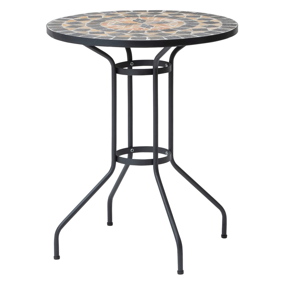 モザイクテーブル径60 ガーデンファニチャーセット