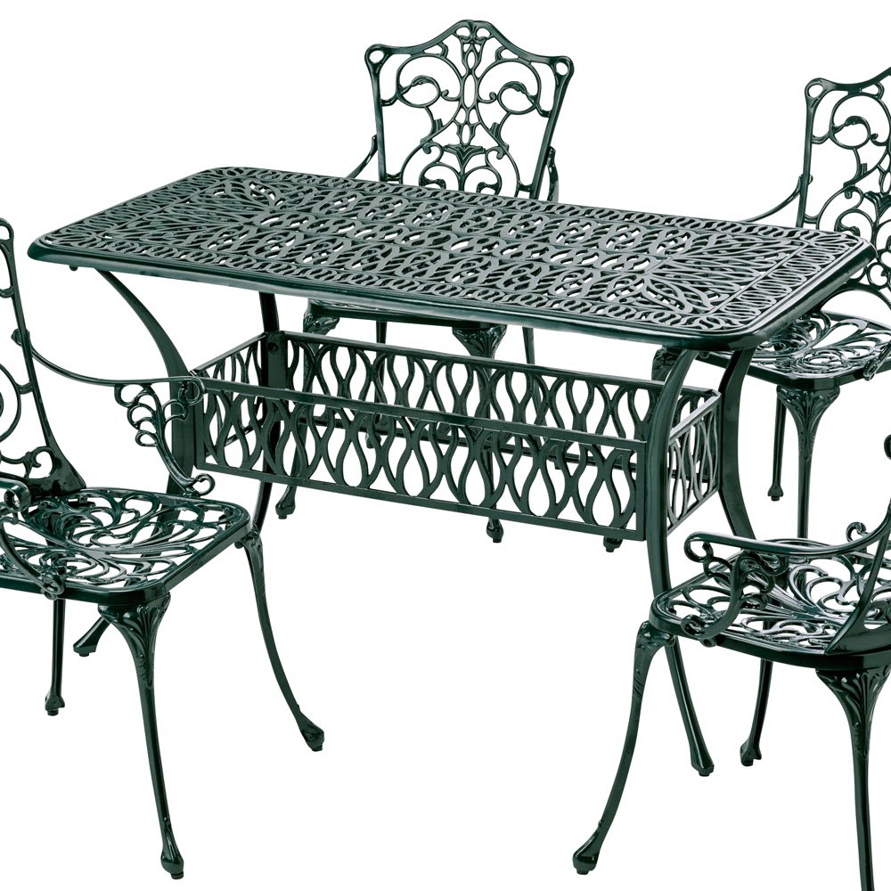 ガーデニング フラワー ガーデニング用品 エクステリア ガーデンテーブル グラシュプレミアムシリーズ レクタンテーブル132 G92804