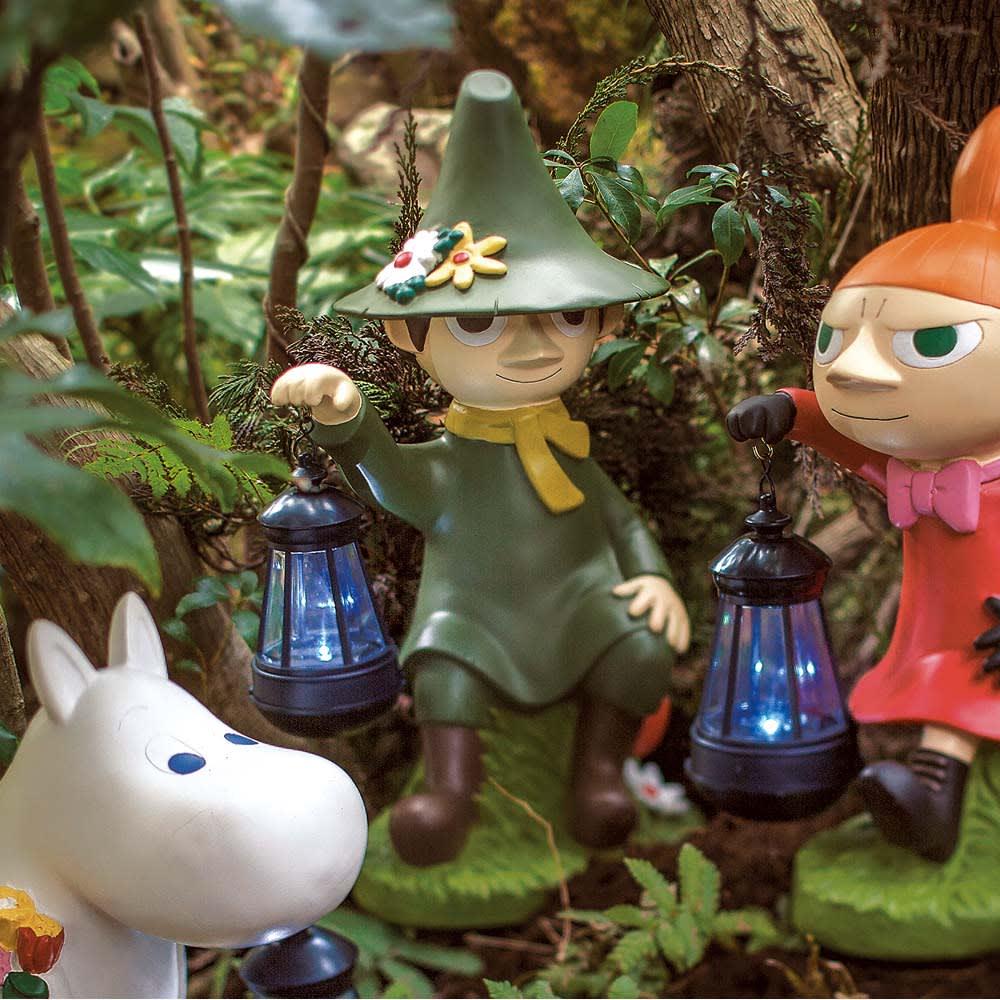 ムーミンシリーズ ソーラーライト小 スナフキン スナフキン ガーデンライト