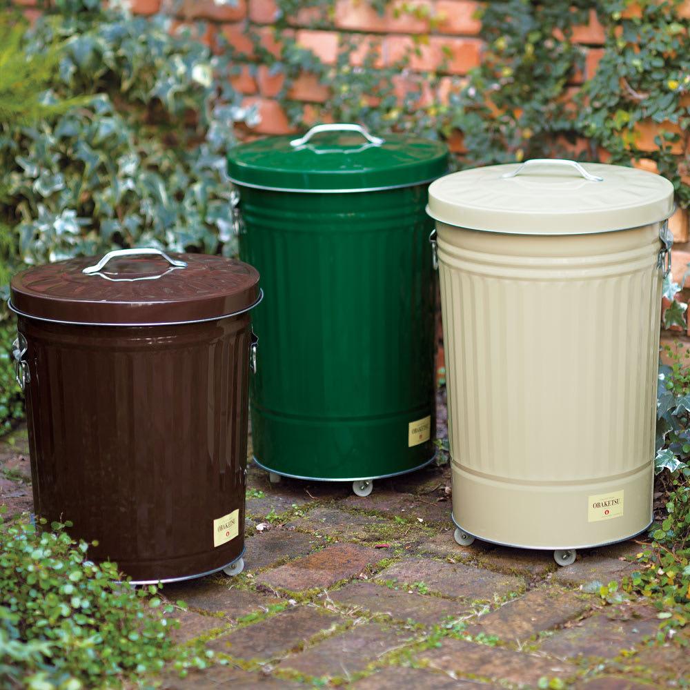 インテリア雑貨 日用品 掃除用品 ゴミ箱 ダストボックス 小(33L)(OBAKETSUカラーゴミ箱) G93216