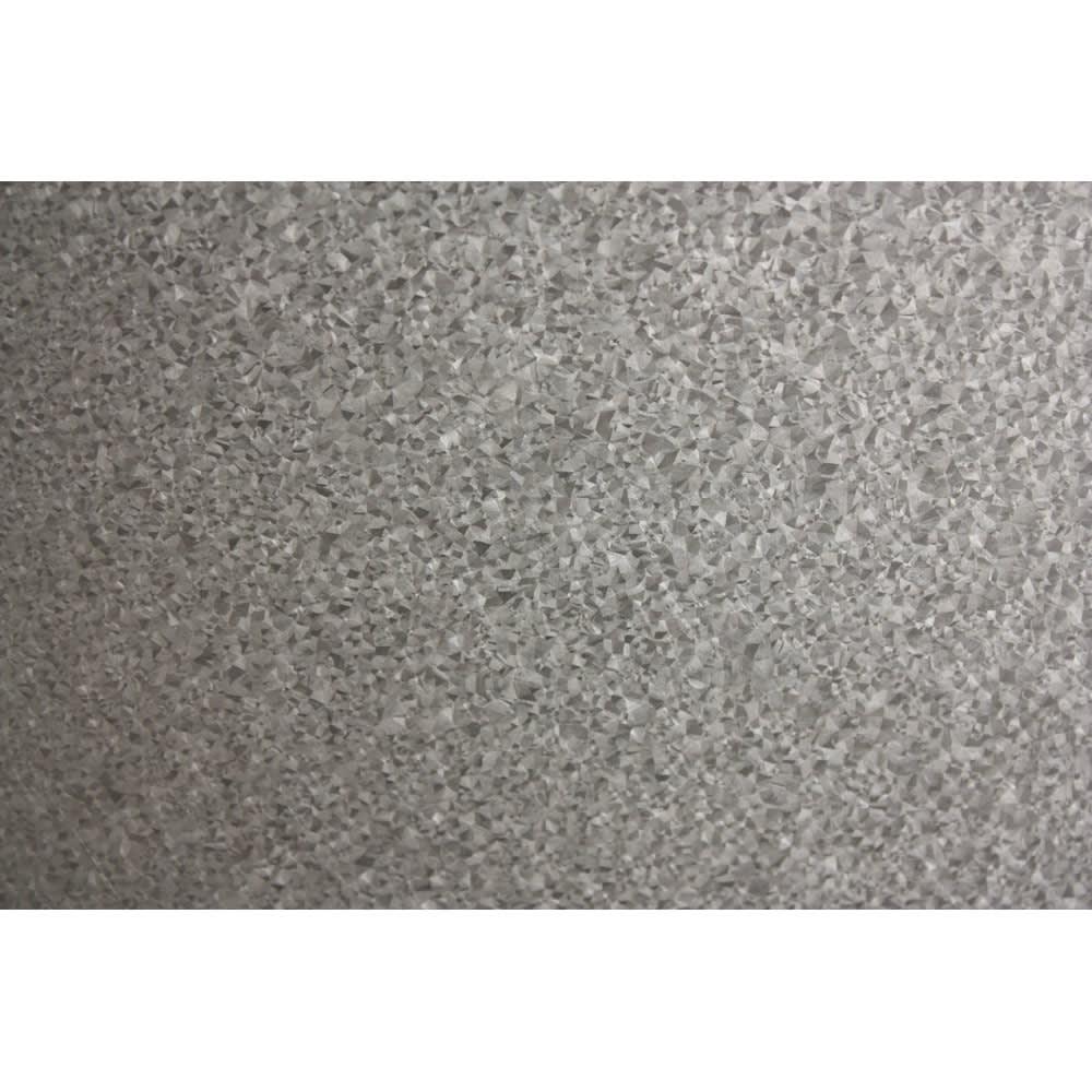 ボンデ鋼板逆ルーバー室外機カバー1段 (ア)天板はガルバリウム鋼板製 ※(イ)の天板にはボンデ鋼板を使用しています。