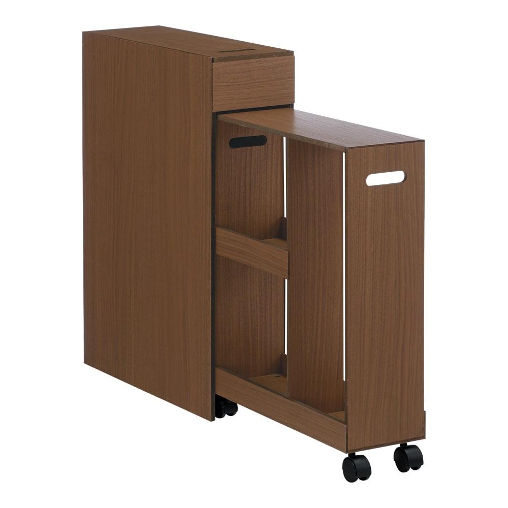 スライド式 トイレ 収納 コンパクトタイプ H45217