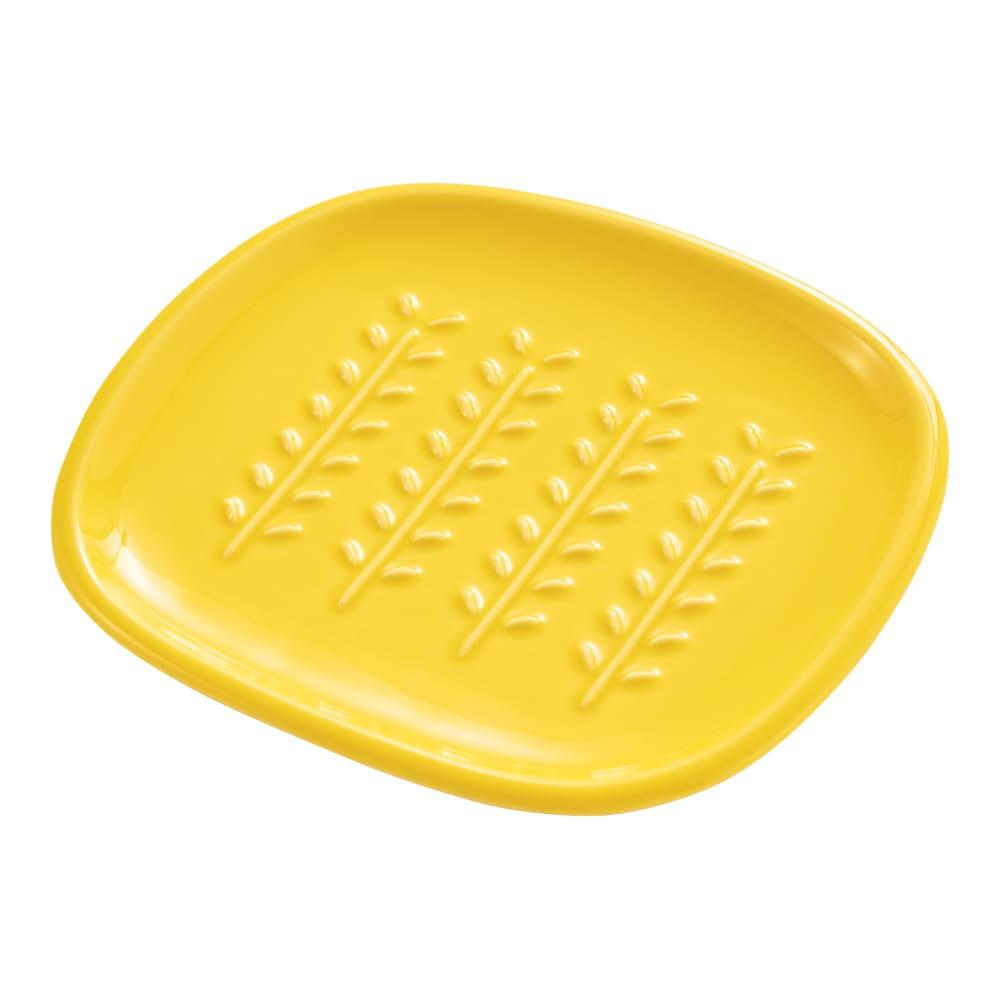 サクサクのパンを楽しめる! CRUST パン皿1枚 (ア)イエロー