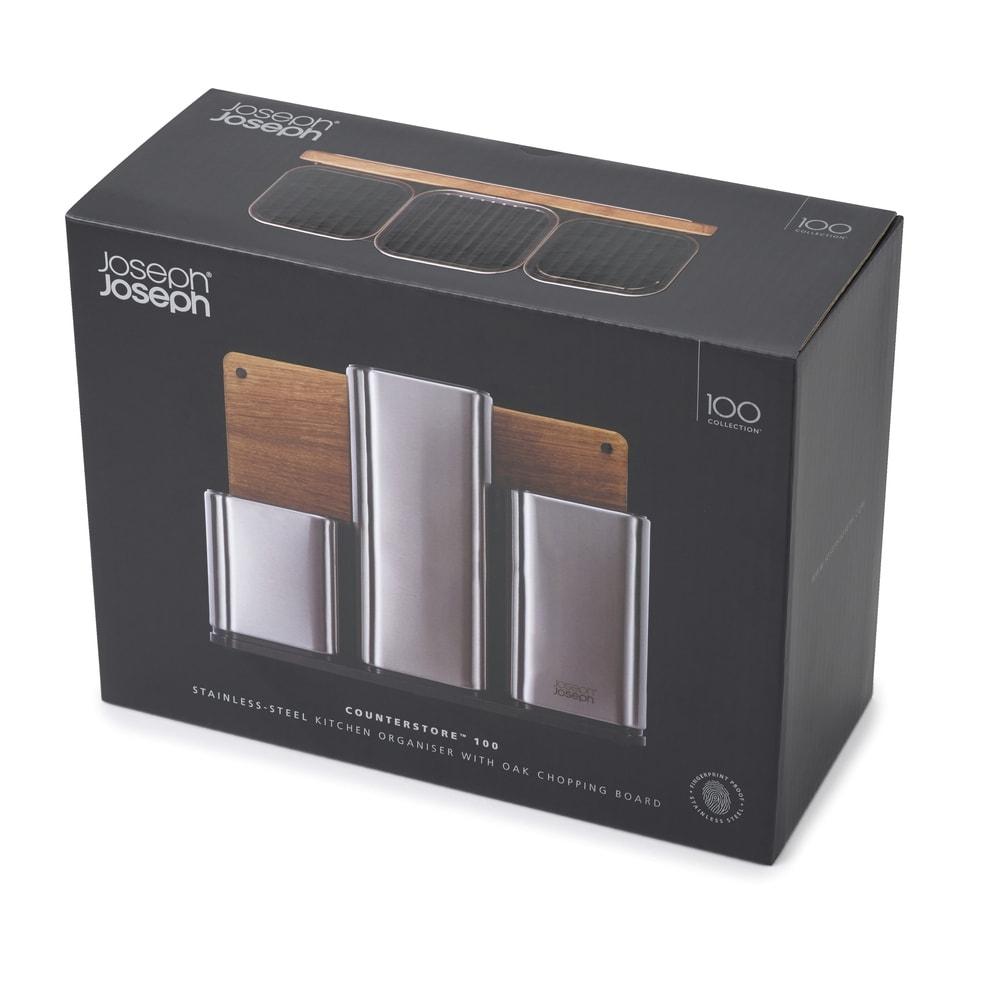 Joseph Joseph/ジョセフ ジョセフ ツールスタンド&まな板セット 化粧箱仕様なので、プレゼントにもおすすめ。