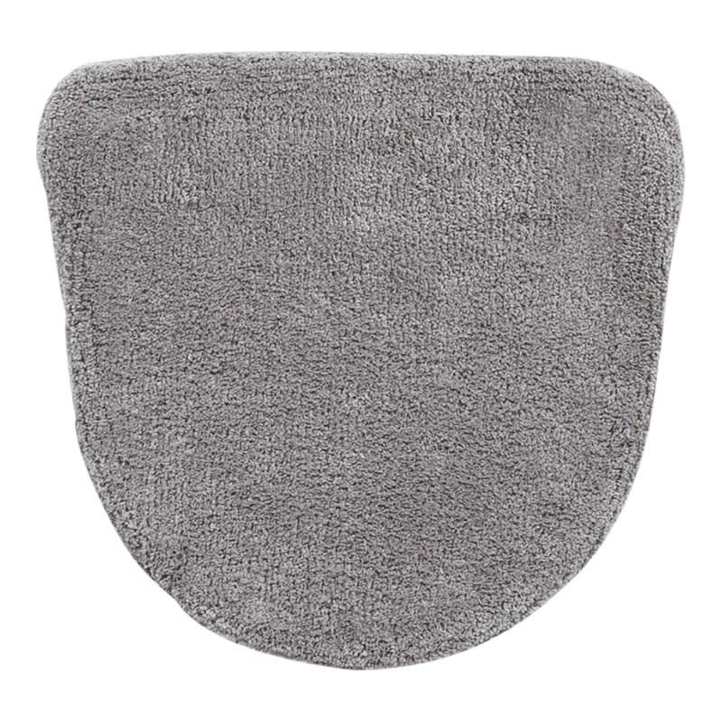 クッショニーフタカバー単品 グレー ※お届けはフタカバー単品です。フタカバーとマットは素材が異なるため、多少色目に差異がございます。