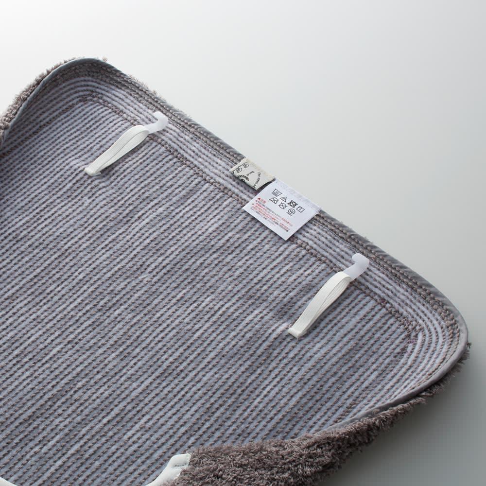 クッショニーフタカバー単品 ベージュ ※お届けはフタカバー単品です。フタカバーとマットは素材が異なるため、多少色目に差異がございます。