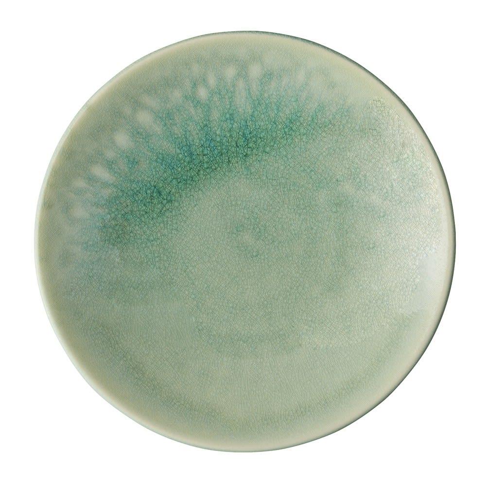 Jars デザートプレート TOURRON 同色2枚組 (ア)ジェイド 爽やかで奥行きのある青が美しい翡翠色。